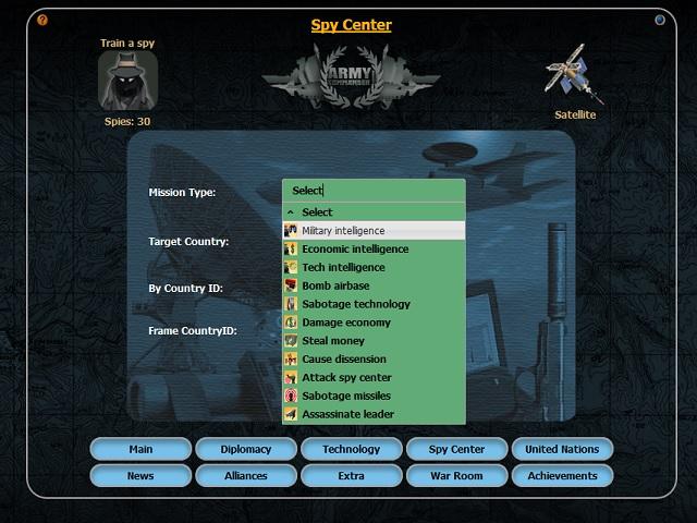 Spy center